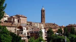 Le bourg de Tarazona