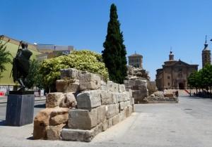 Les vestiges de l'époque Caesaraugusta