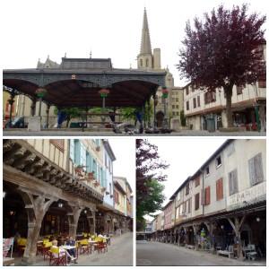 La Place du village médiéval de Mirepoix