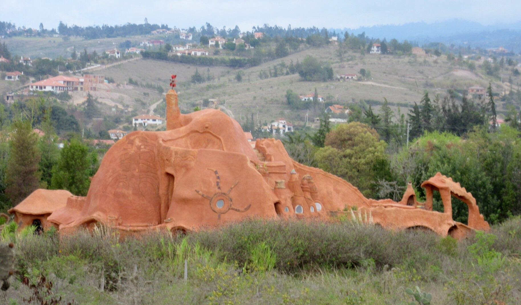 Jour 6 visite de villa de leyva blog de c line et pierre for Plus grande maison au monde