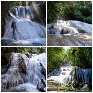 Quatre niveaux de cascades