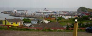 Le port de Cap aux Meules